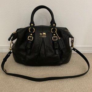 COACH Madison Black Leather Juliette 21222